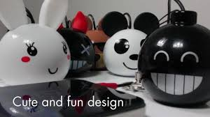 Cute Speakers by Kitsound Mini Buddy Speakers Compatible With Ipod Ipad Iphone 3g