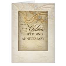 Greetings For 50th Wedding Anniversary Happy 50th Wedding Anniversary Greeting Cards Zazzle Com Au