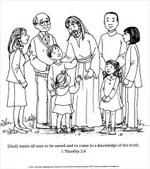 a living hope coloring page jesus with people downloadable