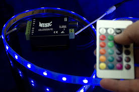 amazon com hitlights led light strip music controller 12v 24v