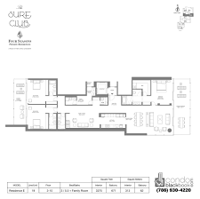 beach club hallandale floor plans the surf club four seasons hotel and residences unit n719 condo