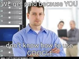 Tech Meme - the nature of tech support call center memes