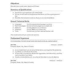 Whats A Resume Plush Design Whats A Good Objective For Resume 8 How To Write