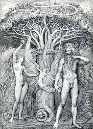 adam and eve under the tree of knowledge