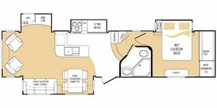 everest rv floor plans 2008 keystone everest 348r trailer reviews prices and specs