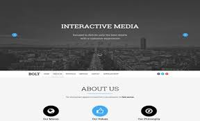 best free portfolio templates bolt template web graphics theme wp free