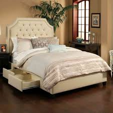 practical king size bed with drawers underneath modern king beds