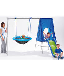 swing chair argos buy chad valley large multiplay climb slide hide and swing at