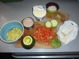 cuisiner courgette ronde courgettes rondes farcies au riz thon et tomates amap dijon les