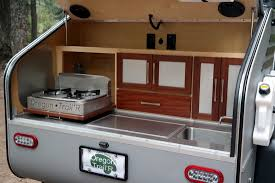 offroad teardrop camper rugged offroad teardrop trailer interior 6
