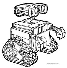 wall e coloring pages pictures 4373