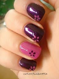 imagenes de uñas pintadas pequeñas 120 uñas con flores uñas decoradas nail art