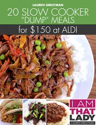 slow cooker steak and potatoes 5 dollar dinnerscom 25 meals for under 150 at aldi