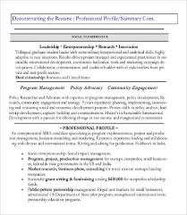 Profile In Resume Example by Profile Resume Examples Profile Resume Examples Resume Tips For