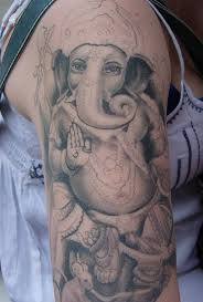 ganesha tattoo on shoulder ganesha tattoo design