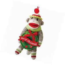 sock monkey ornament ebay
