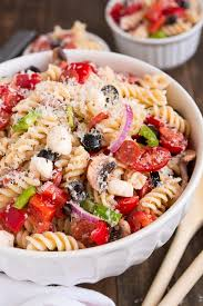 easy bacon chicken ranch pasta salad oh sweet basil