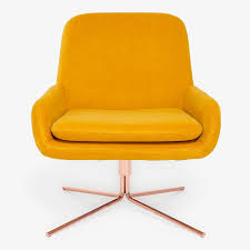 Orange Chair by Swivel Accent Chairs For Your Nyc Apartment At Abc Home