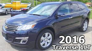 chevrolet traverse 7 seater 2016 chevy traverse awd lt with 1lt review and overview blue