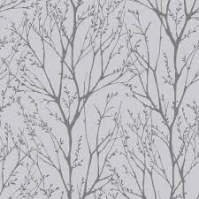 i love wallpaper shimmer tree wallpaper soft grey silver