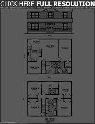 modern 2 story house plans likewise in floor corglife with measure
