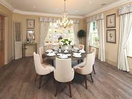 Contemporary Round Dining Room Table Inside Design Decorating - Round dining room table and chairs