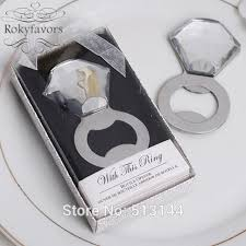 wedding bottle openers aliexpress buy free shipping 20pcs diamond ring