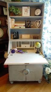 Shabby Chic Writing Desk by Stunning Slimline Writing Bureau Desk Drawers Painted Farrow