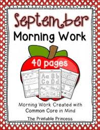 freebie kindergarten morning work letters phonics and ma word