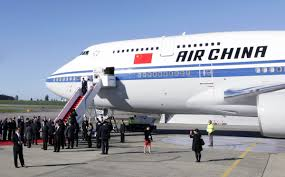 frugal globetrotter president xi jinping flies air china rather