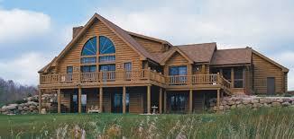 marvelous luxury log cabins floor plans comfortable 7 log home