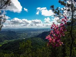 hiking up flattop mountain in jarabacoa dominican republic