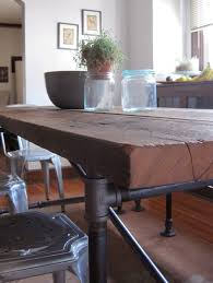 Diy Industrial Dining Room Table Best 25 Pipe Table Ideas On Pinterest Pipe Leg Table Diy Pipe
