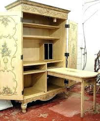 Office Desk Armoire Cabinet Office Desk Armoire Cabinet How To Organize Your Computer S For