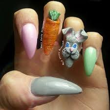 3d Nails Art Designs 32 Cute Nail Art Designs For Easter Stayglam