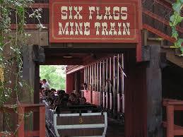 Fright Fest Six Flags Arlington Tx Runaway Mine Train Six Flags Over Texas Wikipedia