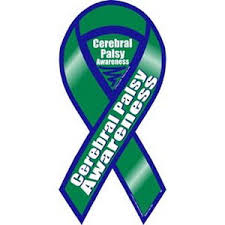cerebral palsy ribbon palsy awareness ribbon magnet