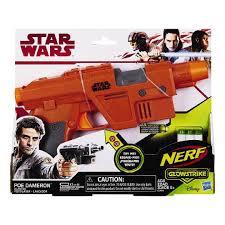 nerf car gun nerf star wars episode 8 poe dameron blaster the warehouse