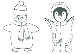 wintry penguin art project thrive