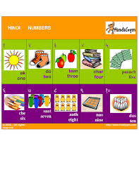 hindi number chart free print at home ginti ank hindi