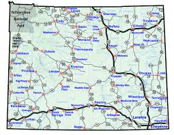 map of wyoming maps