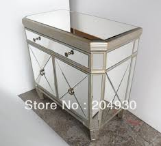 gold mirrored nightstand bedroom enchanting for interesting
