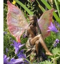 rhea of the oak bronze garden ornament statue eugardens