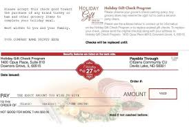 When Did Thanksgiving Become A Legal Holiday Holiday Gift Check Program The Official Site