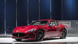maserati granturismo convertible red interior maserati honors its past with carbon fiber for granturismo grancabrio