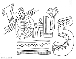 reading coloring pages u0026 printables classroom doodles