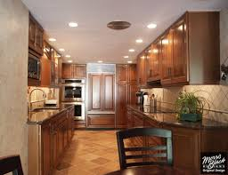 kitchen the best of kraftmaid kitchen designs kitchen awesome full size of kitchen mesmerizing rich brown kraftmaid cabinetry in corridor style with diagonal traventine flot