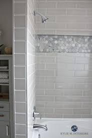 Black And Gray Bathroom Our Bathroom Remodel U2013 Greige Subway Tile And More U2026 Subway Tile