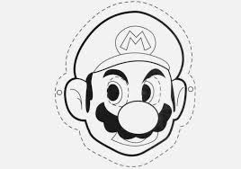super mario bros coloring drawing free wallpaper anggela