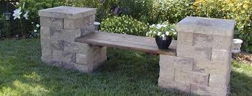 diy build a concrete bench basalite